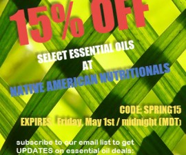 Native American Nutritionals coupon code Click