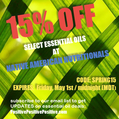 Native American Nutritionals Discount April 2015 image