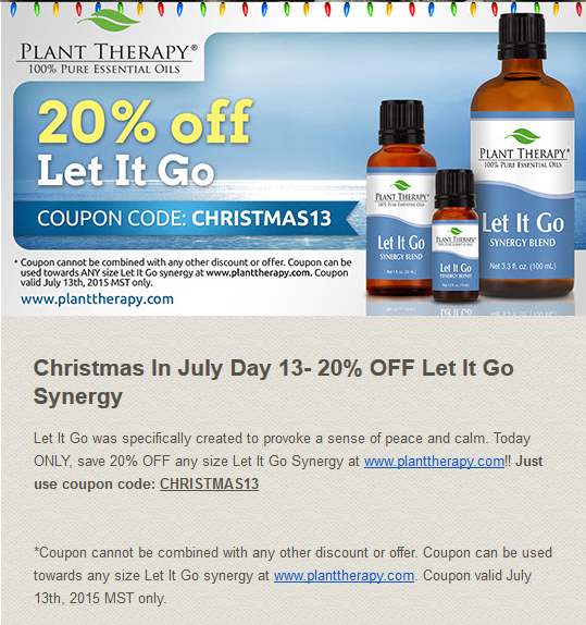 Plant Therapy July 2015 Discount