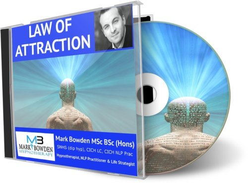 The Law of Attraction Hypnosis CD – Helps you live consistently with the universal law that was brought to life by the film The Secret, law of cause effect and positivity
