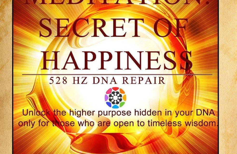 Meditation: Secret of Happiness (528 Hz Dna Repair)