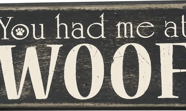 Primitives by Kathy Box Sign, 5.75-Inch by 3-Inch, at Woof