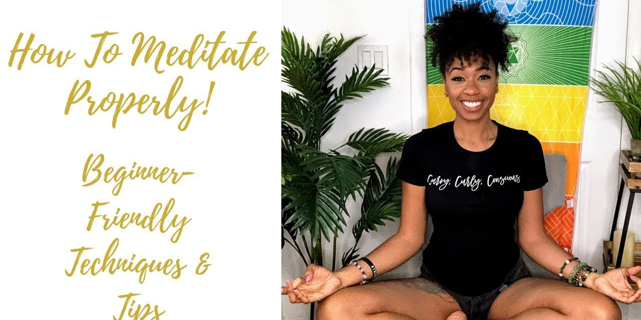 How to Meditate for Beginners (MEDITATION TECHNIQUES TO STOP MIND